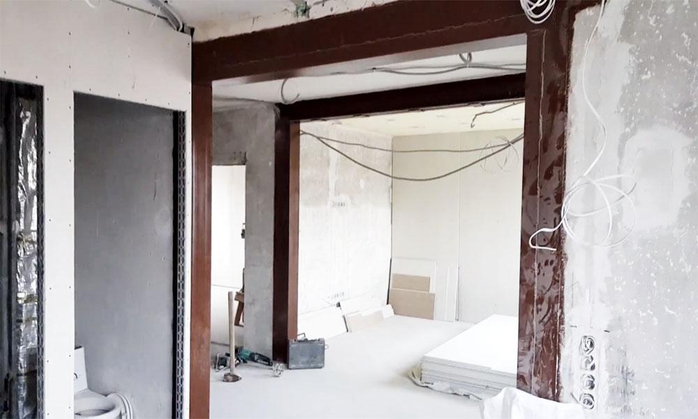 sienos nugriovimo kaina